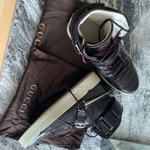 100% Authentic Gucci Horsebit hightop sneaker